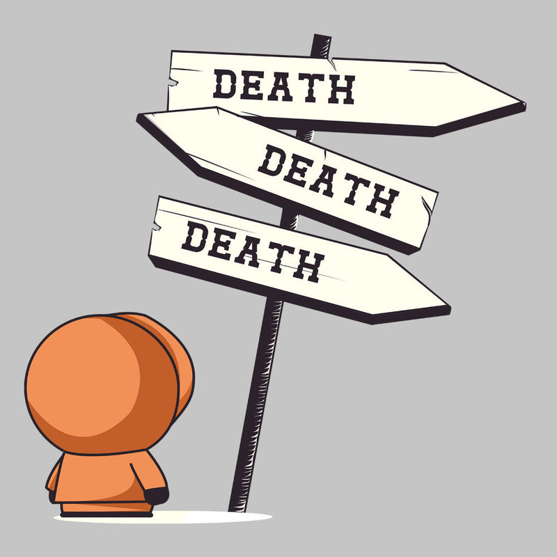 Death Signpost Kenny South Park by Donnie - Cloud City 7