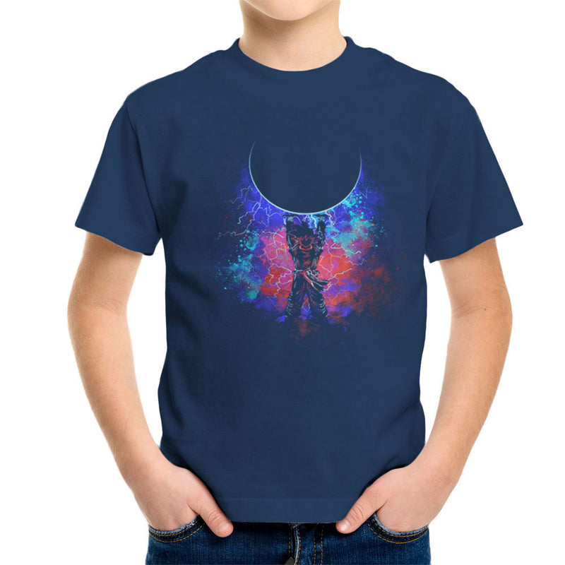 Genkida Art Spirit Bomb Dragon Ball Z Kid's T-Shirt by Donnie - Cloud City 7