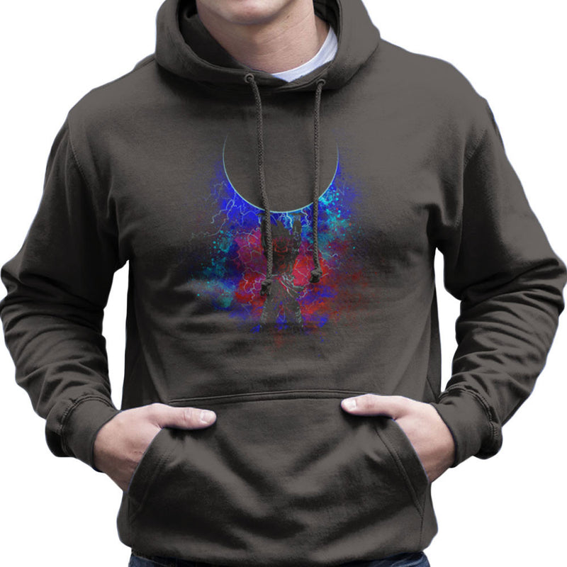 Genkida Art Spirit Bomb Dragon Ball Z Men's Hooded Sweatshirt by Donnie - Cloud City 7