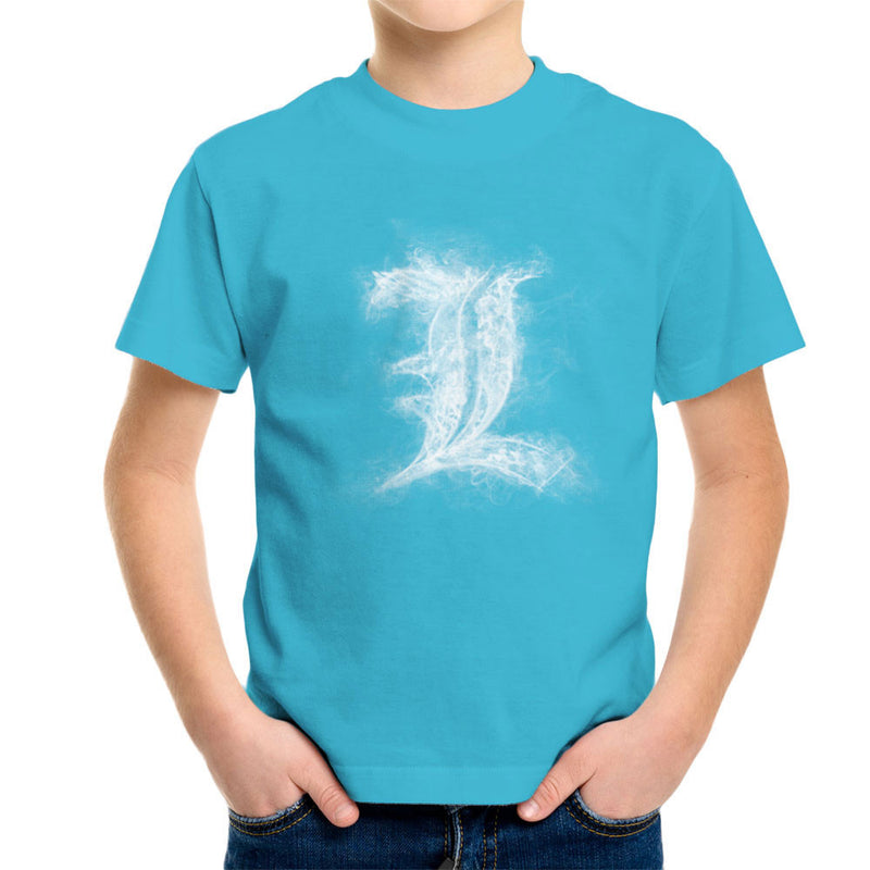 L Smoke Kid's T-Shirt by Donnie - Cloud City 7