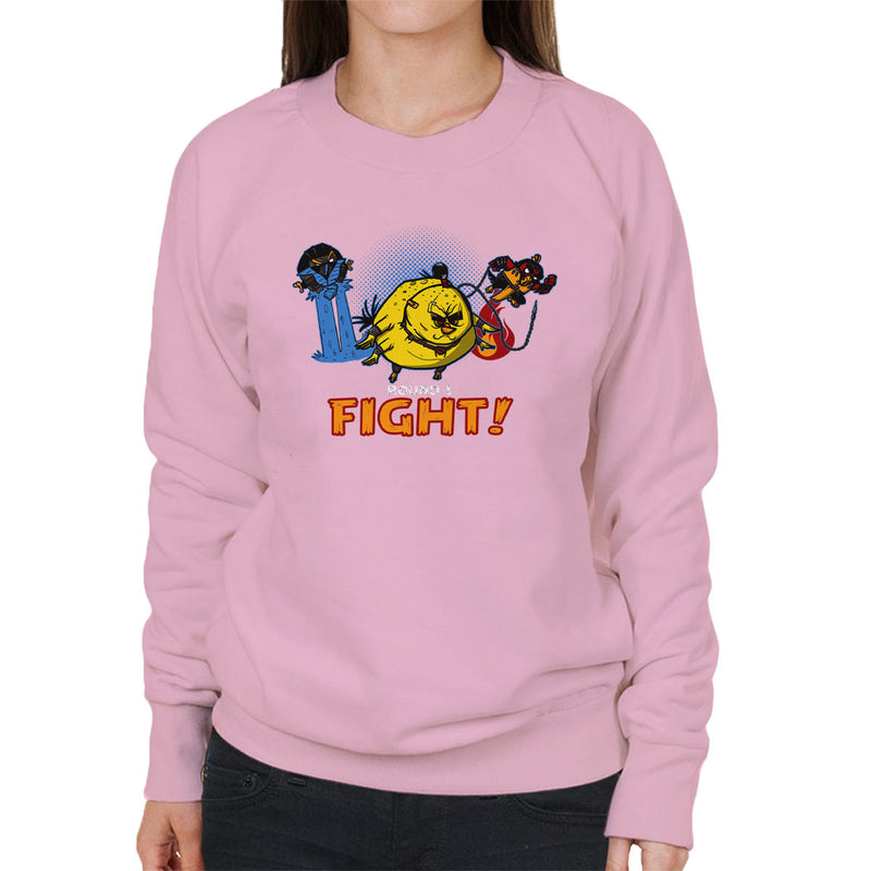 Aviary Kombat Mortal Angry Birds Women's Sweatshirt by AndreusD - Cloud City 7