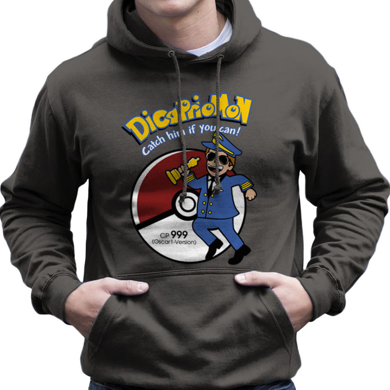Dicapriomon Catch Him If You Can Pokemon Leonardo Dicaprio Men's Hooded Sweatshirt by Kempo24 - Cloud City 7