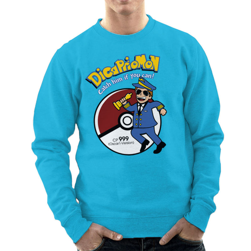Dicapriomon Catch Him If You Can Pokemon Leonardo Dicaprio Men's Sweatshirt by Kempo24 - Cloud City 7