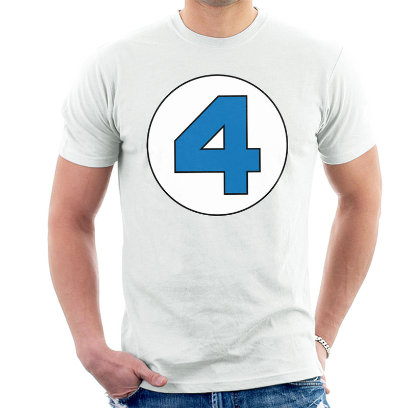 4 Fantastic Logo Men's T-Shirt by Stefaan - Cloud City 7