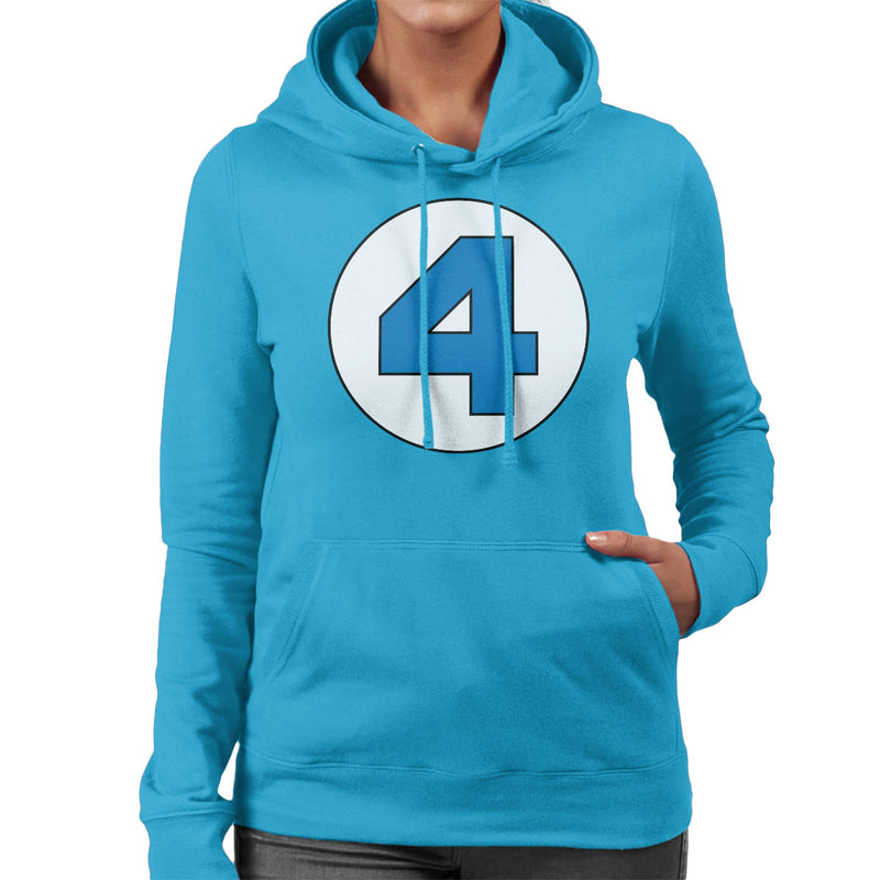 4 Fantastic Logo Women's Hooded Sweatshirt by Stefaan - Cloud City 7