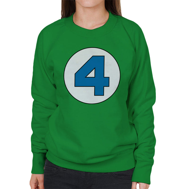 4 Fantastic Logo Women's Sweatshirt by Stefaan - Cloud City 7