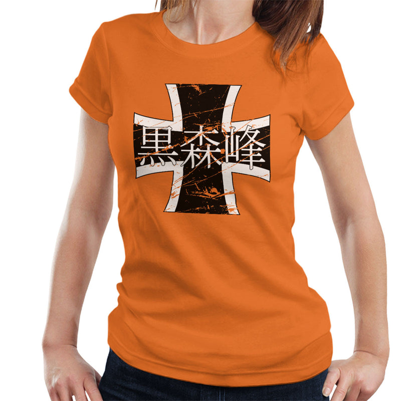 Black Forest Girls Academy Girls Und Panzer Distressed Women's T-Shirt by Stefaan - Cloud City 7