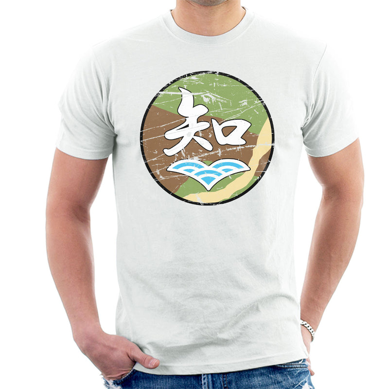 Chi Han Tan Academy Girls Und Panzer Distressed Men's T-Shirt by Stefaan - Cloud City 7