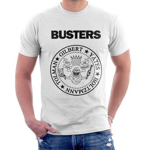 Ramones Busters Ghostbusters New Black