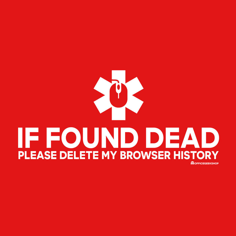 If Found Dead Please Delete My Browser History Women's Vest by OfficeGeekShop - Cloud City 7