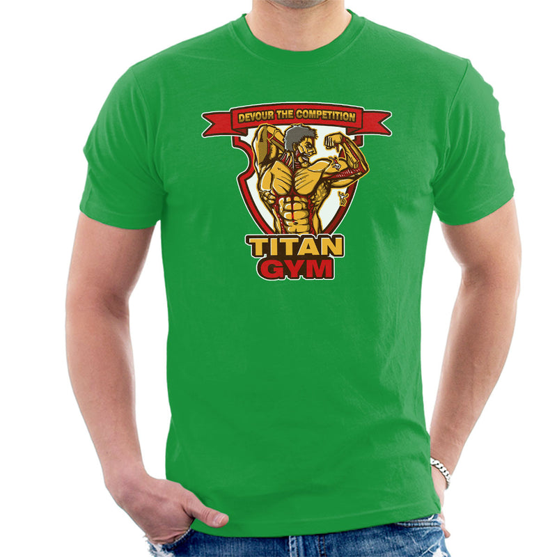 Titan Gym Attack On Titan Men's T-Shirt by AndreusD - Cloud City 7