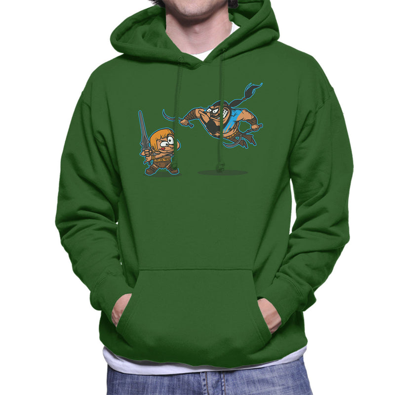 Clash Of The Titans He Man Khal Drogo Game Of Thrones Men's Hooded Sweatshirt by AndreusD - Cloud City 7
