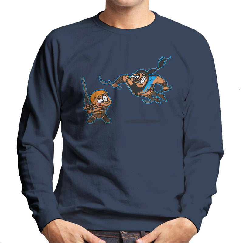 Clash Of The Titans He Man Khal Drogo Game Of Thrones Men's Sweatshirt by AndreusD - Cloud City 7