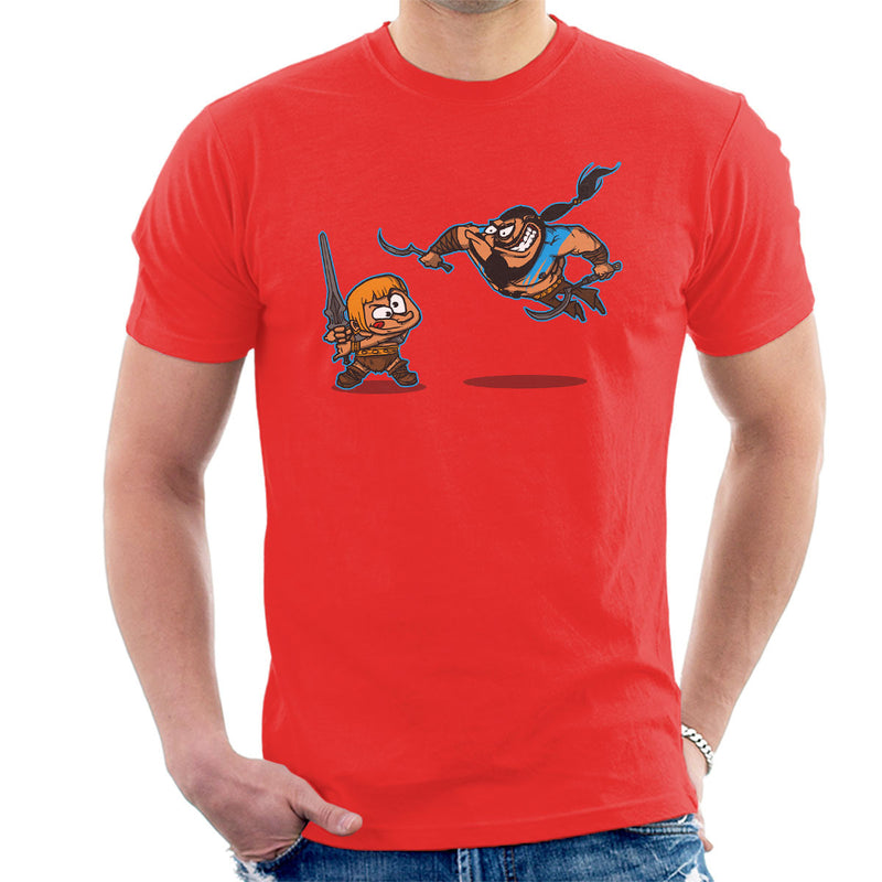 Clash Of The Titans He Man Khal Drogo Game Of Thrones Men's T-Shirt by AndreusD - Cloud City 7