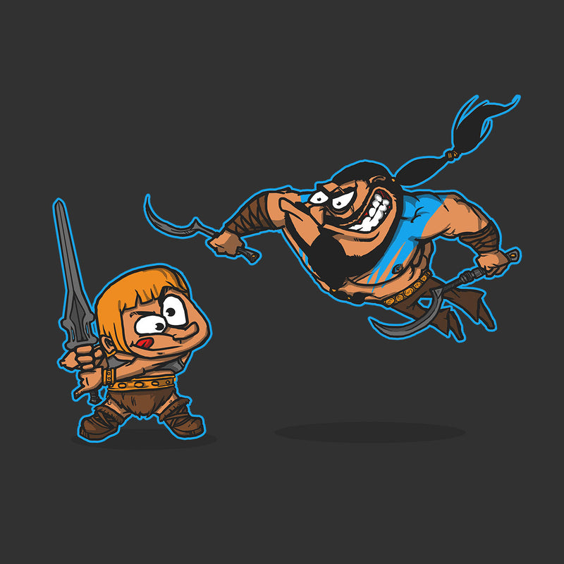Clash Of The Titans He Man Khal Drogo Game Of Thrones Kid's T-Shirt by AndreusD - Cloud City 7