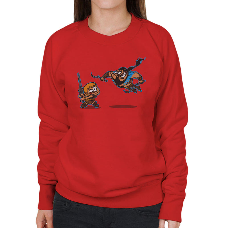 Clash Of The Titans He Man Khal Drogo Game Of Thrones Women's Sweatshirt by AndreusD - Cloud City 7