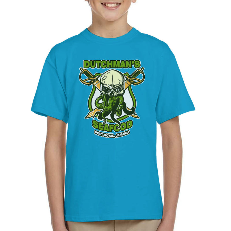 Dutchmans Seafood Kid's T-Shirt by AndreusD - Cloud City 7