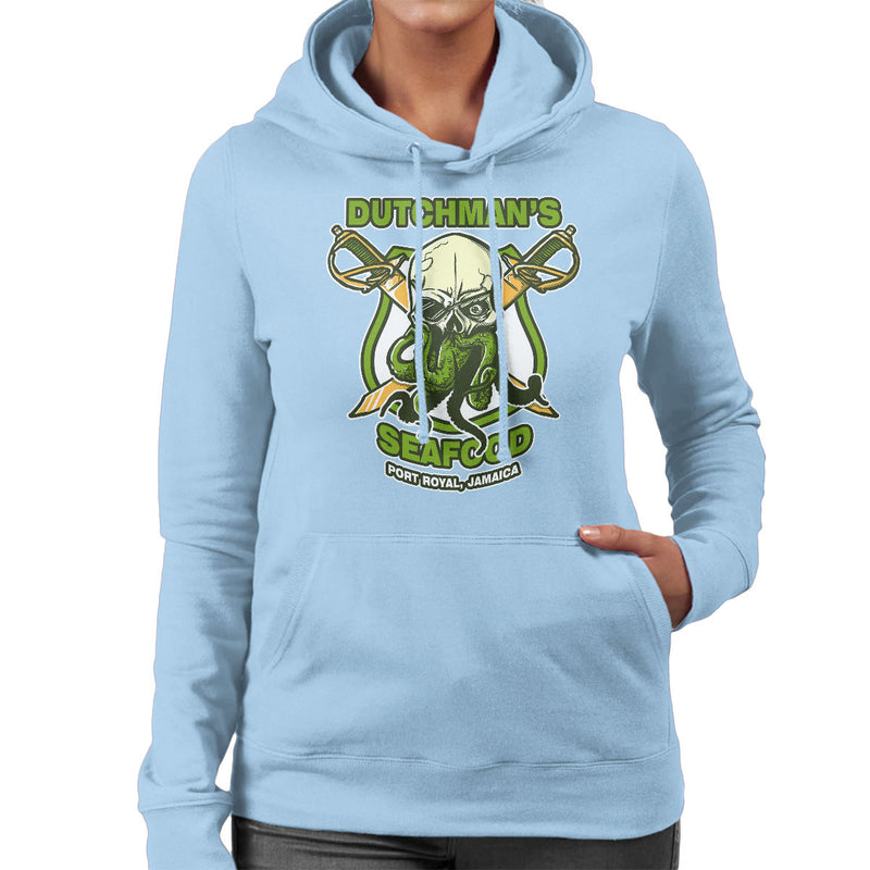 Dutchmans Seafood Women's Hooded Sweatshirt by AndreusD - Cloud City 7