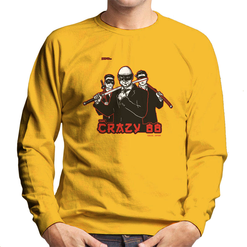 Join The Gang Crazy 88 Kill Bill Men's Sweatshirt by AndreusD - Cloud City 7