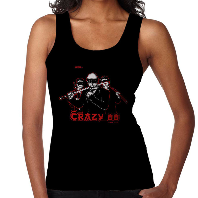 Join The Gang Crazy 88 Kill Bill Women's Vest by AndreusD - Cloud City 7