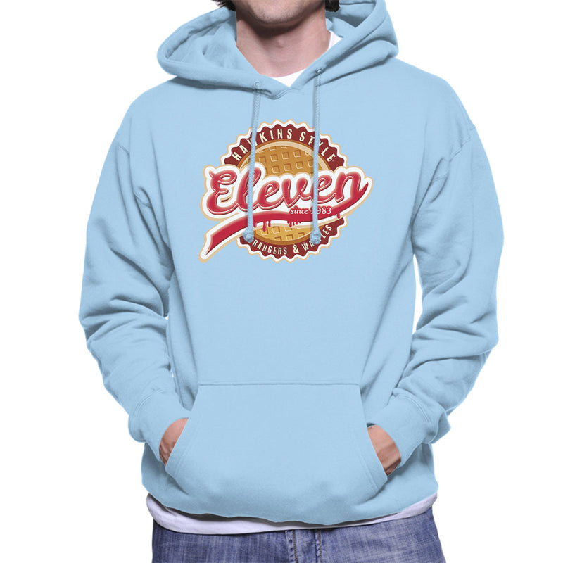 Eleven Waffles And Co Starnger Things Men's Hooded Sweatshirt by Kempo24 - Cloud City 7