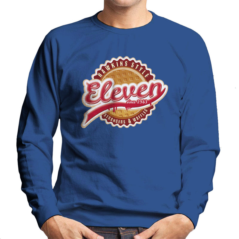 Eleven Waffles And Co Starnger Things Men's Sweatshirt by Kempo24 - Cloud City 7
