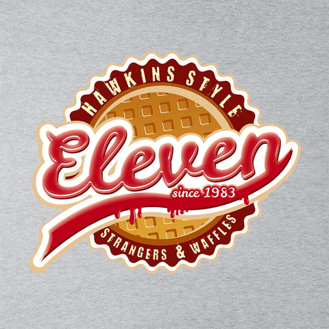 Eleven Waffles And Co Starnger Things