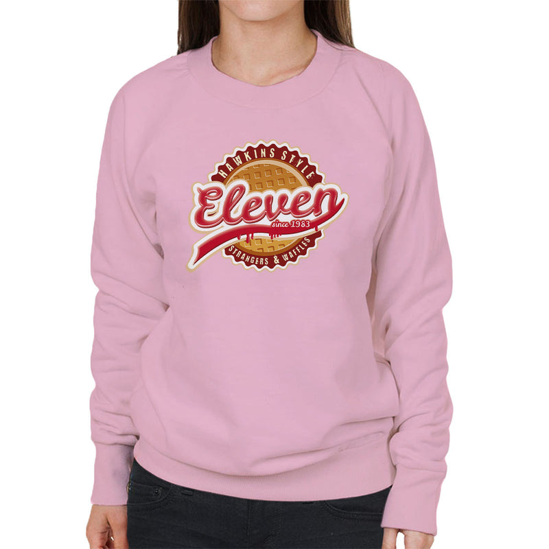 Eleven Waffles And Co Starnger Things Women's Sweatshirt by Kempo24 - Cloud City 7