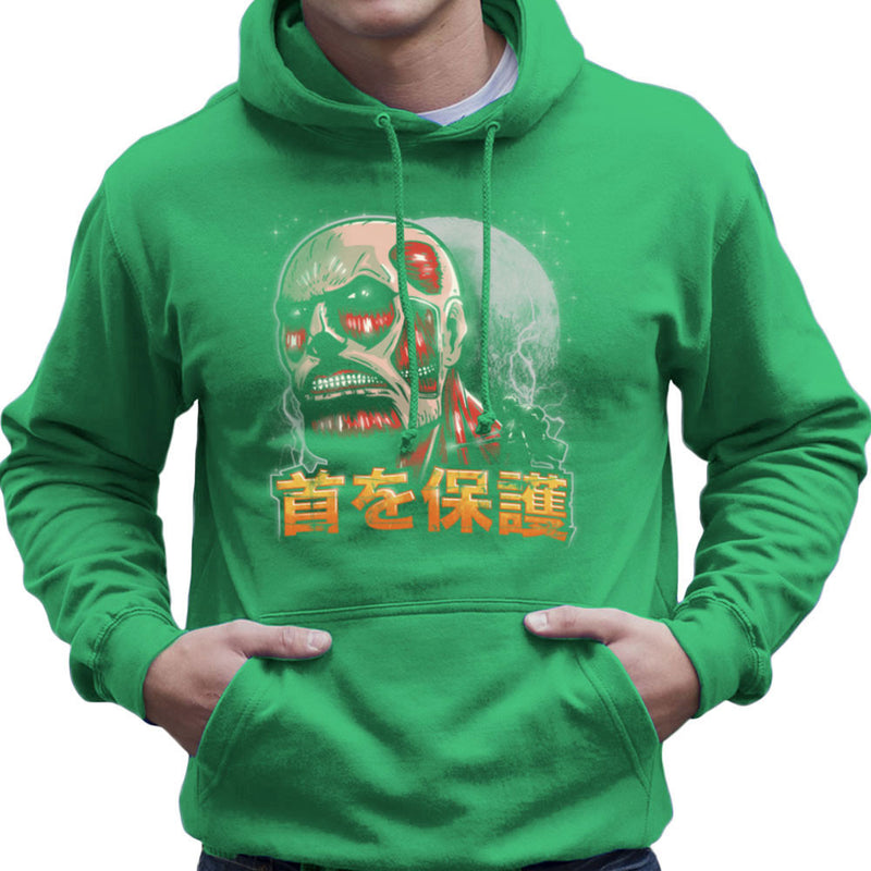 Aim For The Nape Attack On Titan Men's Hooded Sweatshirt by Create Or Destroy - Cloud City 7