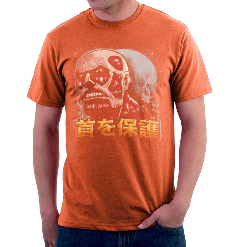 Aim For The Nape Attack On Titan Men's T-Shirt by Create Or Destroy - Cloud City 7