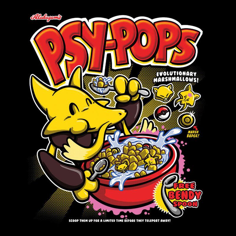 Alakazams Psypops Pokemon Cereal Men's Vest by Create Or Destroy - Cloud City 7