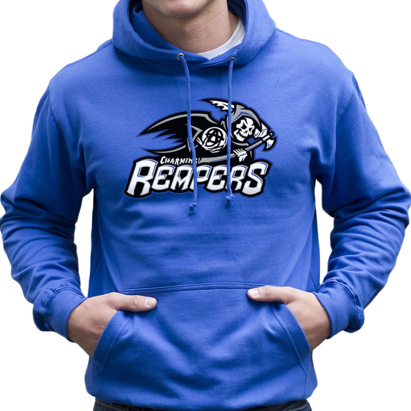Charming Reapers Sons Of Anarchy Men's Hooded Sweatshirt by Create Or Destroy - Cloud City 7