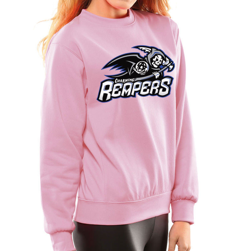 Charming Reapers Sons Of Anarchy Women's Sweatshirt by Create Or Destroy - Cloud City 7