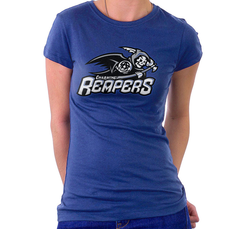 Charming Reapers Sons Of Anarchy Women's T-Shirt by Create Or Destroy - Cloud City 7