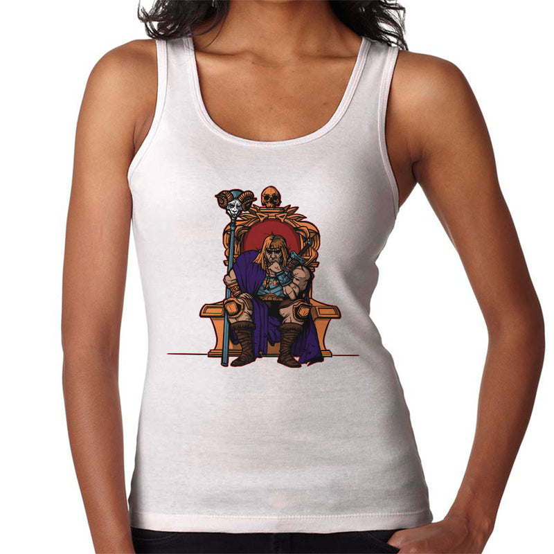 King Of Eternia He Man Masters Of The Universe Women's Vest by AndreusD - Cloud City 7
