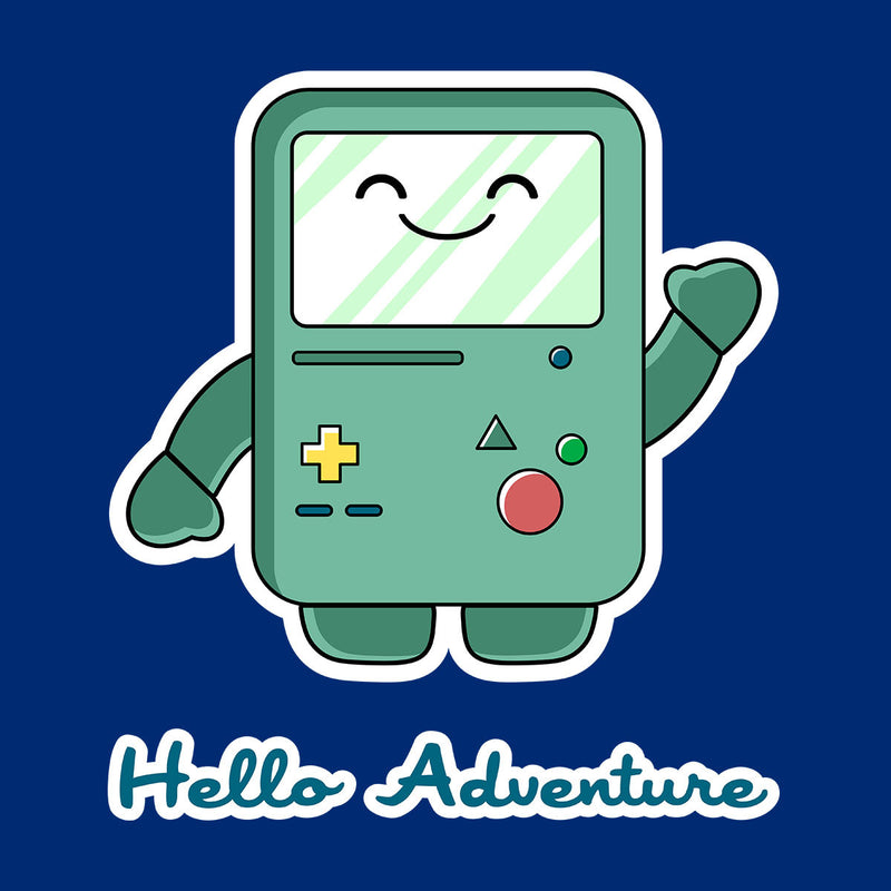 Adventure Time Hello BMO Games Console Blue by Kempo24 - Cloud City 7