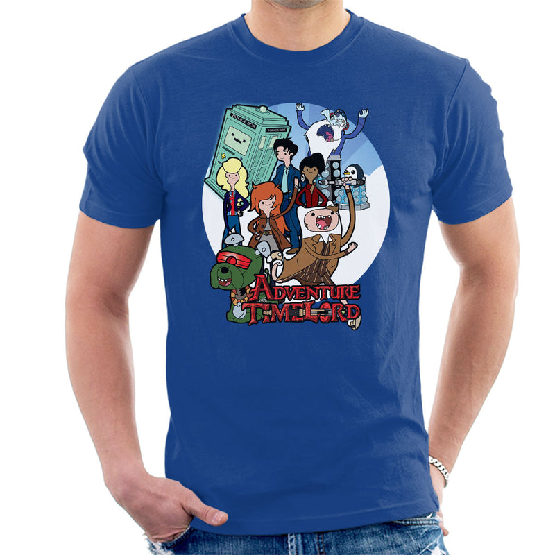 Adventure Time Lord Geration 10 Doctor Who Tardis Men's T-Shirt by TopNotchy - Cloud City 7