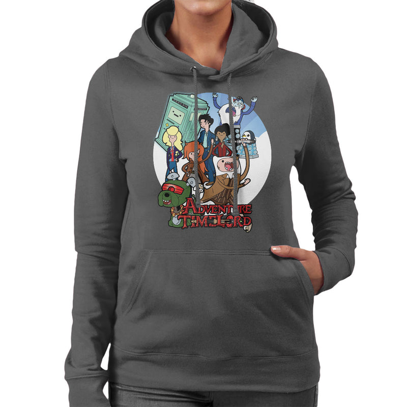 Adventure Time Lord Geration 10 Doctor Who Tardis Women's Hooded Sweatshirt by TopNotchy - Cloud City 7