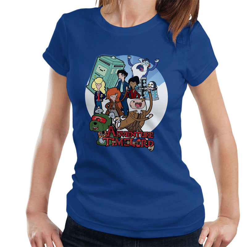 Adventure Time Lord Geration 10 Doctor Who Tardis Women's T-Shirt by TopNotchy - Cloud City 7