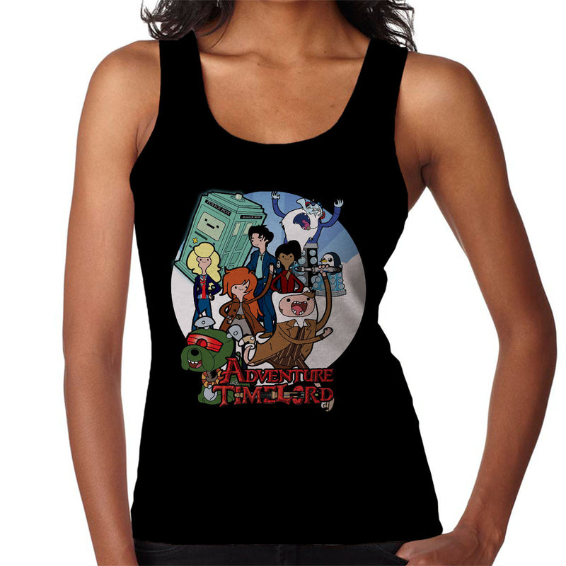 Adventure Time Lord Geration 10 Doctor Who Tardis Women's Vest by TopNotchy - Cloud City 7