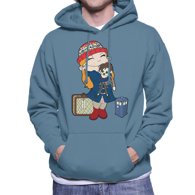 Amelia Pond Doctor Who Tardis Men's Hooded Sweatshirt by TopNotchy - Cloud City 7