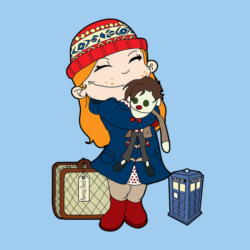 Amelia Pond Doctor Who Tardis Kid's T-Shirt by TopNotchy - Cloud City 7