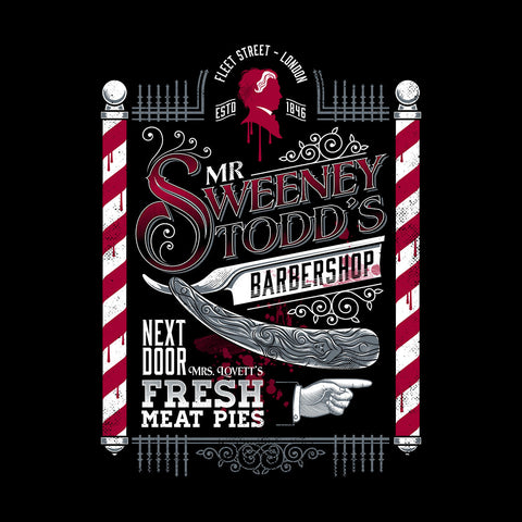 Demon Barber Mr Sweeney Todds Barbers Shop