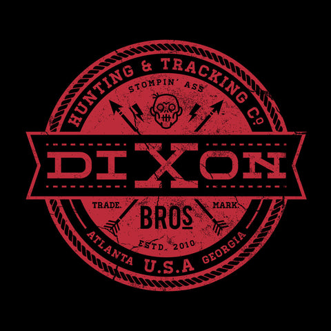 Dixon Bros Hunting And Tracking Co Walking Dead Red