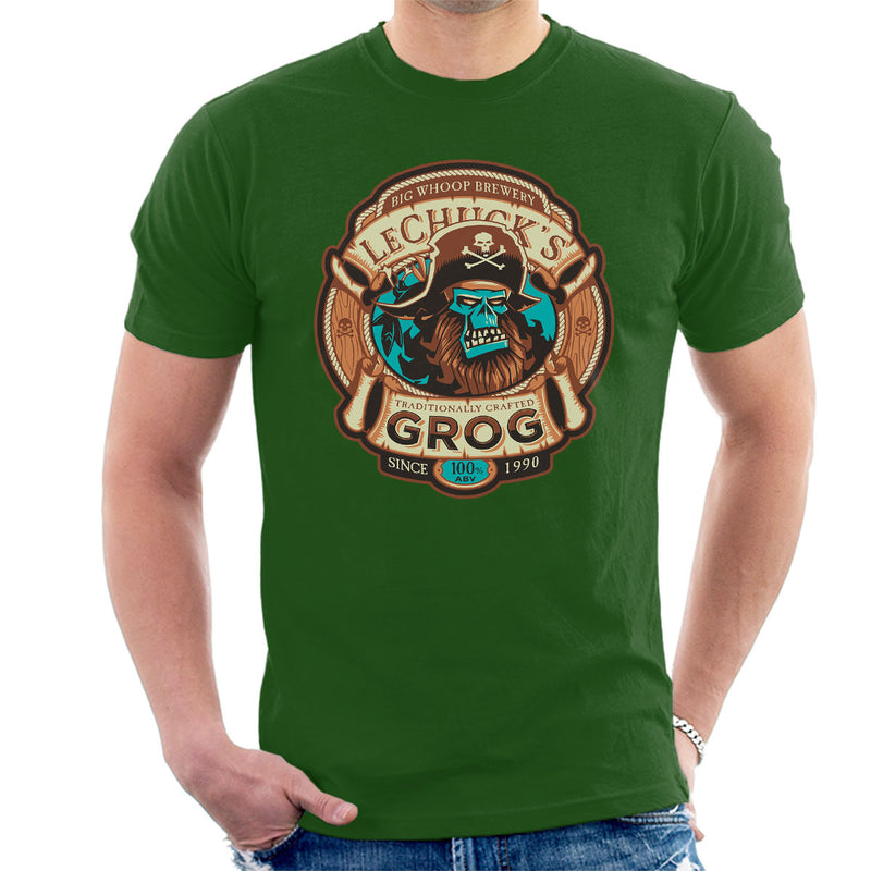 Ghost Pirate Grog Monkey Island Lechuck Men's T-Shirt by Nemons - Cloud City 7