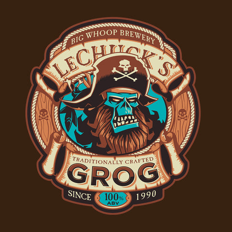 Ghost Pirate Grog Monkey Island Lechuck