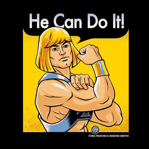 He Can Do It He Man Masters Of The Universe