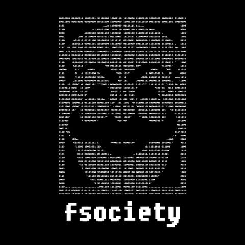 Fsociety Binary Code Mr Robot