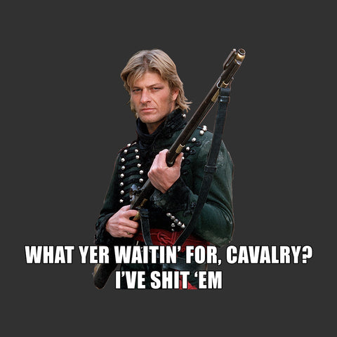 Sharpe What Yer Waitin For Cavalry Sean Bean