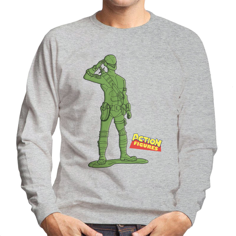 Action Heroes Snake Eyes Men's Sweatshirt by TopNotchy - Cloud City 7